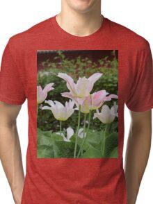 Happy spring flowers Tri-blend T-Shirt