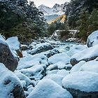 Ice on the Rocks by Adrian Alford Photography