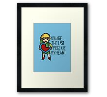 Legend Of Zelda - The Last Piece Framed Print