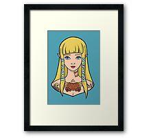 Zelda - Skyward Sword (SG Style) Framed Print