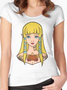 Zelda - Skyward Sword (SG Style) Women's Fitted Scoop T-Shirt