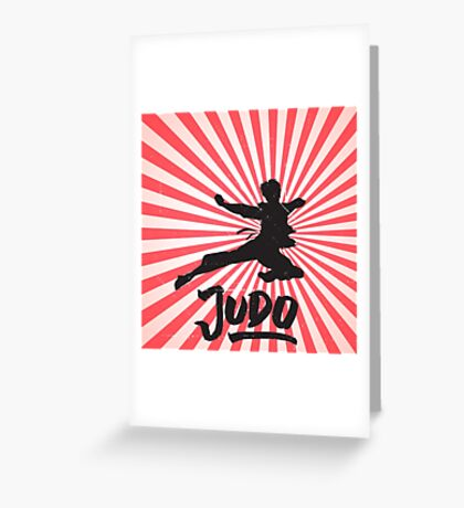 JUDO ILLUSTRATION Greeting Card