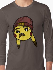 MustaCHU Long Sleeve T-Shirt