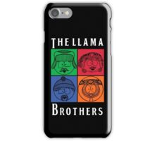 The Llama Brothers iPhone Case/Skin