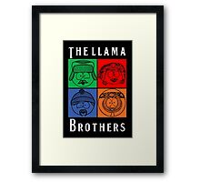 The Llama Brothers Framed Print