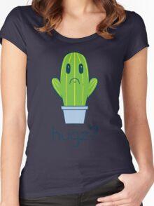 Hugz Cactus Women's Fitted Scoop T-Shirt