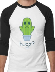 Hugz Cactus Men's Baseball ¾ T-Shirt