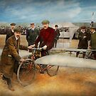 Plane - Odd - Easy as riding a bike 1912 by Mike  Savad