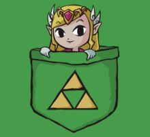 Legend Of Zelda - Pocket Zelda Baby Tee