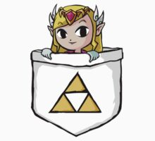Legend Of Zelda - Pocket Zelda Kids Clothes