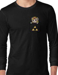 Legend Of Zelda - Pocket Zelda Long Sleeve T-Shirt