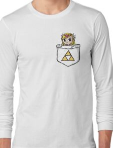 Legend Of Zelda - Pocket Zelda Long Sleeve T-Shirt