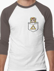 Legend Of Zelda - Pocket Zelda Men's Baseball ¾ T-Shirt