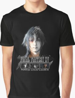 FINAL FANTASY XV - NOCTIS Graphic T-Shirt