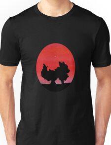 Flareon Sunset Silhouette Pokemon  Unisex T-Shirt