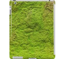 Moss Covered Stone iPad Case/Skin