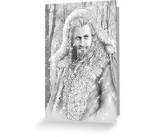 King Without a Crown Greeting Card