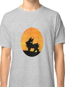 Jolteon Sunset Silhouette Pokemon Classic T-Shirt