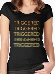 TRIGGERED Women's Fitted Scoop T-Shirt