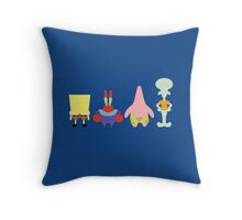 Minimalist Crew Throw Pillow