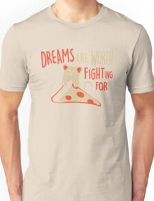 Mouse Like Pizza Unisex T-Shirt