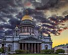 Saint Isaac's Cathedral by LudaNayvelt