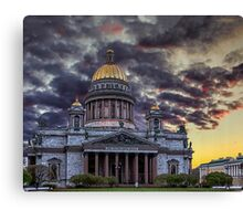Saint Isaac's Cathedral Canvas Print