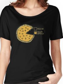 Pizza Pie Chart nom nom Women's Relaxed Fit T-Shirt