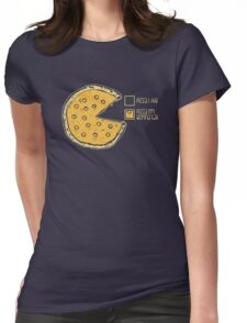 Pizza Pie Chart nom nom Womens Fitted T-Shirt