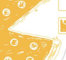 Pizza Pie Chart nom nom Sticker