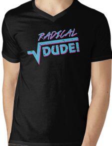Radical Dude Math Mens V-Neck T-Shirt