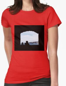 Beautiful Italy Womens Fitted T-Shirt