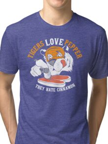 Tigers Love Pepper Tri-blend T-Shirt