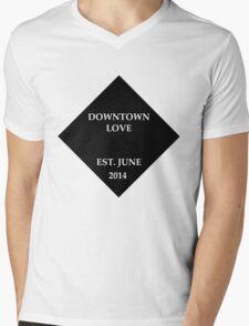 G-Eazy Downtown love Mens V-Neck T-Shirt