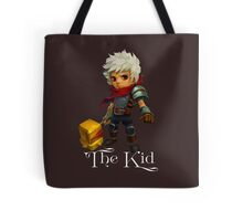 The Kid with Text Tote Bag