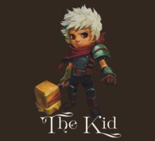 The Kid with Text by Krystin Wallace