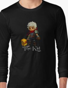 The Kid with Text Long Sleeve T-Shirt