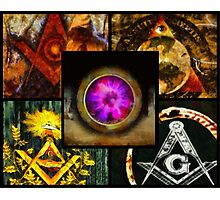 Brotherhood - Freemason Photographic Print