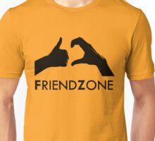 Friendzone (black text) Unisex T-Shirt