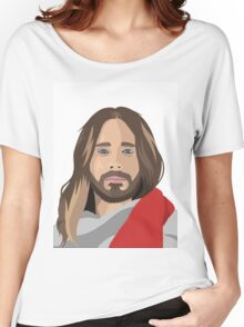 Jesus Leto Women's Relaxed Fit T-Shirt