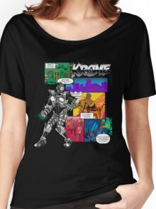 Krome Comic Women's Relaxed Fit T-Shirt