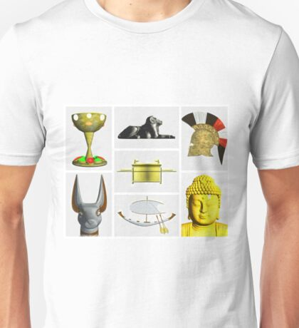 Icons of Man by Pierre Blanchard Unisex T-Shirt