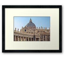 Rome - St Peter Basilica Framed Print