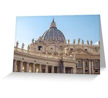 Rome - St Peter Basilica Greeting Card