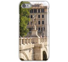 Rome - Ponte Sant Angelo iPhone Case/Skin