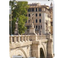 Rome - Ponte Sant Angelo iPad Case/Skin
