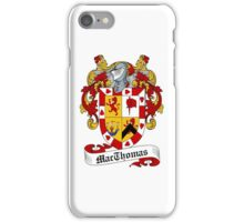 MacThomas iPhone Case/Skin