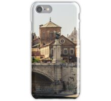 Sunny day in Rome  iPhone Case/Skin