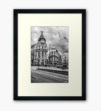 Metropolis Building Framed Print