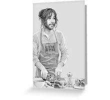 Cooking Kili Greeting Card
